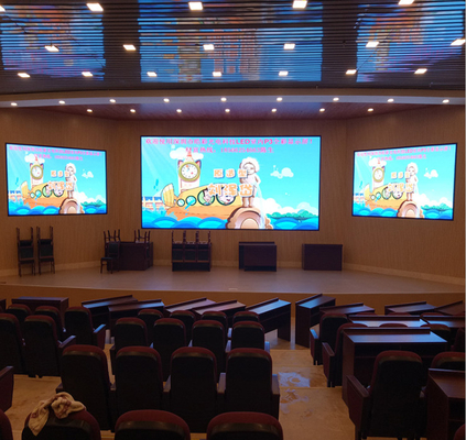interior led video wall